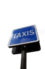 Panneau taxi