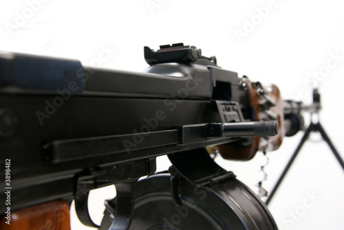 Right side appearance of the machine-gun RPD-44