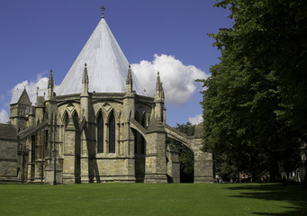 Chapter House, Lincoln Cathedral, Lincoln, England, U.K.