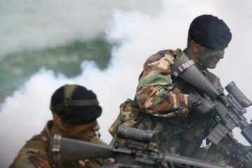 Attacking marine corps
