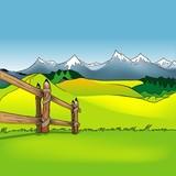 Fototapety Cartoon Background 12