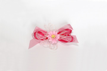 rosy tape bow
