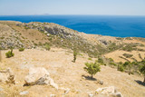 A photo  of a typical cretan scenery, Greece poster