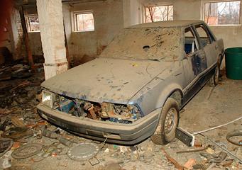 Ende eines Autos