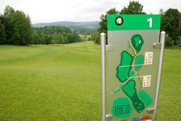 Golf - map