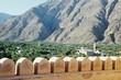 Burg und Zinnen im Oman