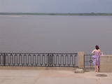 Girl on the embankment poster