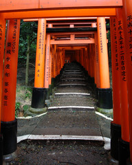 Fushimi Inari temple in Kyoto, Japan