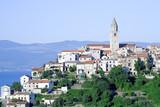 Small Croatian coastal town poster