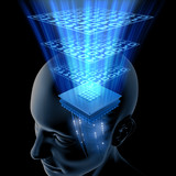 The Brain is Thinking (Processor) poster