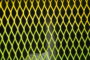 colored wire mesh