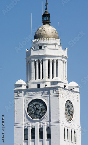 clock tower in Philadelphia