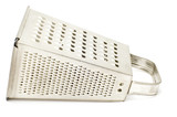 series object on white - kitchen utensil - Metal grater poster