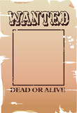 vector wanted poster poster