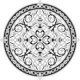 Arabic floral pattern motif  poster