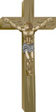Christ on the cross, poster
