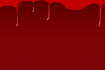 Blood on dark red background