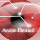Access denied after eye scan poster