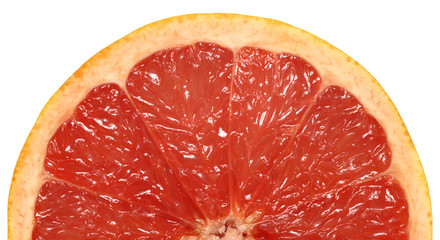 Grapefruit half