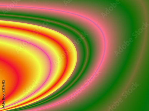 Fractal rendition of a colorful pool back ground