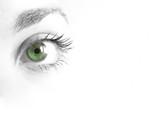 Pupila verde poster