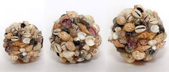 3 shell spheres