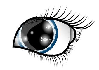 Eye in the night
