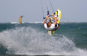 Kitesurf Backroll