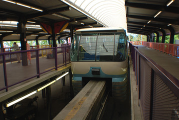 Wating for the Monorail