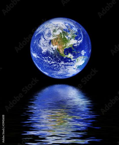 kula-z-odbiciem-wody