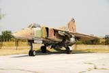 Soviet made fighter jet Mig-23 poster