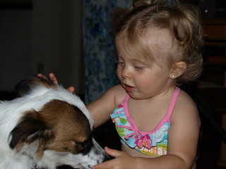 Babby and dog 017