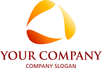 logo mit drei elementen