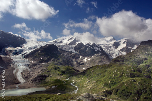 Glacier in the Alps