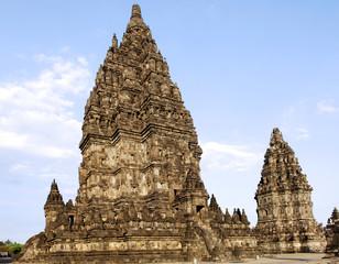 Indonesia, Java: Yogyakarta, temple of Prambanan