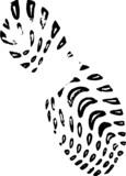 Trainer Footprint poster