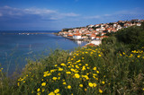 The town of Koroni, southern Greece poster