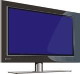 plasma TV poster