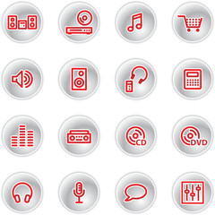 red music icons