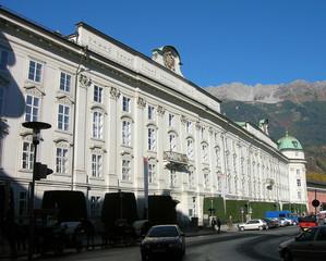 Hoffburg di Innsbruck: facciata