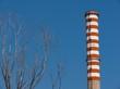 inquinamento industriale di una raffineria
