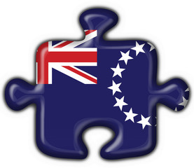 bottone puzzle cook island - button flag