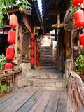 Lijiang City China poster
