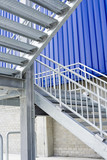 Metal staircase.. poster