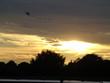 Sunset with Kite