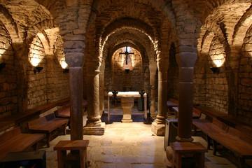 Interior Iglesia románica