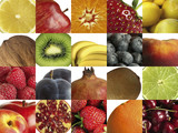 Fototapety Composition of different fruits