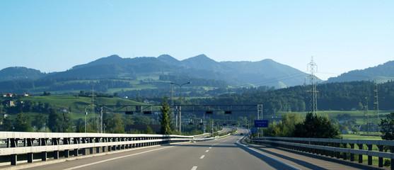 réseau routier suisse