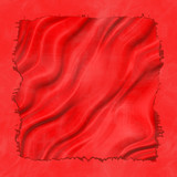 Silky red material poster