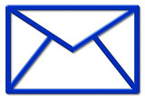 brief mail symbol poster